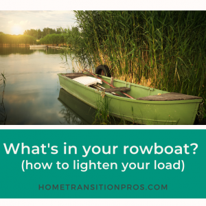 Blog - What's in your rowboat